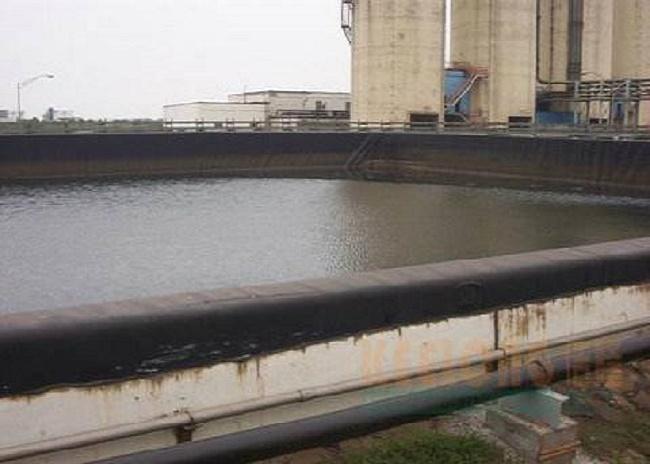 电厂污水处理池